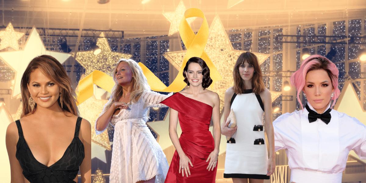 Celebrities with endometriosis Daisy Ridley, Chrissy Teigen, Emma Bunton, Alexa Chung, Lena Dunham,